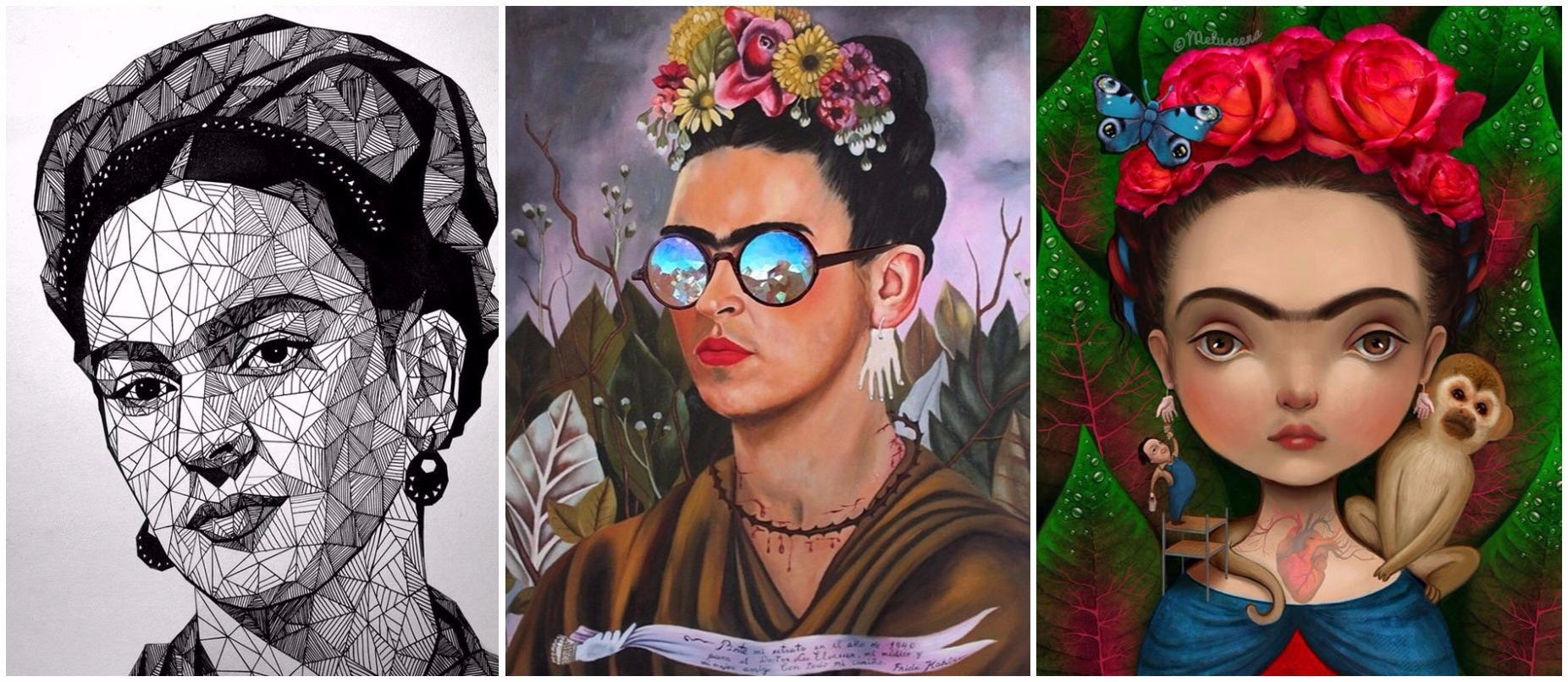 14 Retratos De Frida Kahlo Realizados Por Artistas De Todo El Mundo