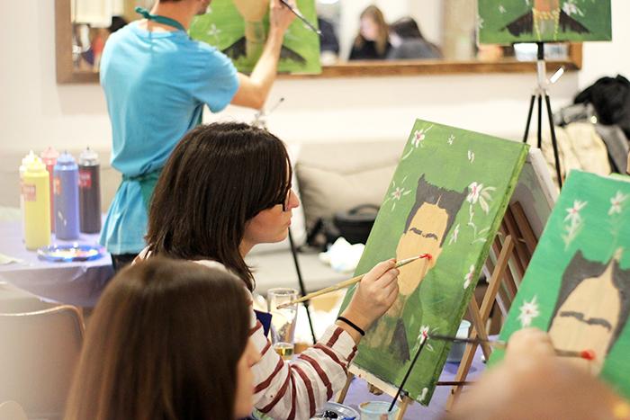 Cuadros abstractos y cuadros figurativos convi rtete en for Como pintar un cuadro abstracto