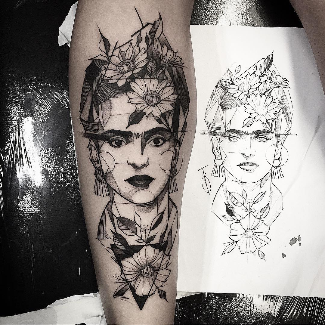 La Mona Lisa El Guernica El Beso 15 Increibles Tatuajes