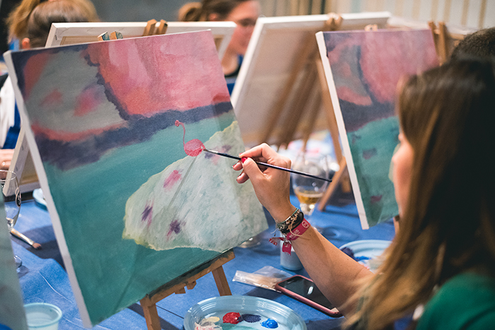 Cuadros Al óleo Vs Cuadros En Acrílico Crea Tu Obra En Salir Con Arte