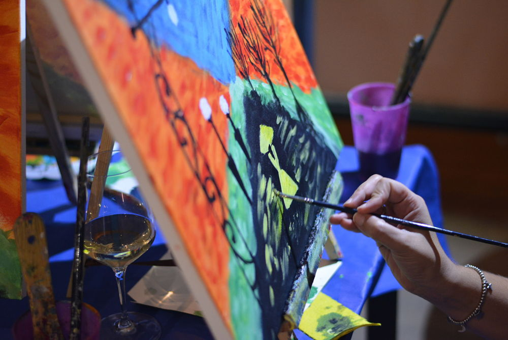 Curso De Pintura Aprende A Pintar Un Cuadro Paso A Paso