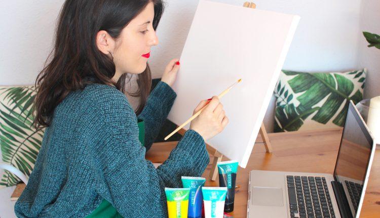 Técnicas De Pintura Acrílica óleo Acuarela Conviértete En